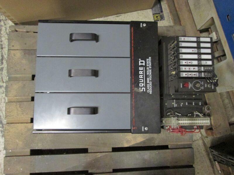 Square D Soft Start 8660 Mk002 2619940c 230v 200hp 460v 400hp Used