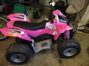 Girls Little Tykes ATV!! Tons of Fun!