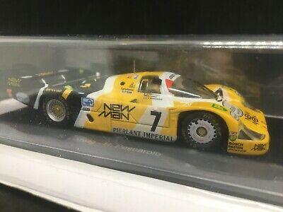 Porsche 956L Turbo Newman Joest Racing #7 Winner Le Mans 1984 SPARK presse 1/43