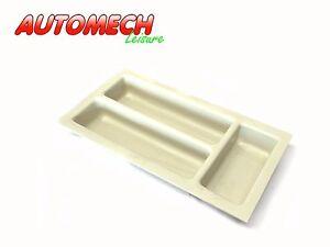 High Quality Cutlery Tray Caravan/Motorhome 360 x 170 x 45mm. (Ivory)