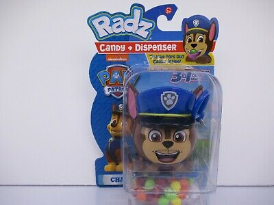 Characters In Paw Patrol (RADZ PAW PATROL CANDY AND DISPENSER 3 IN 1- CHASE)