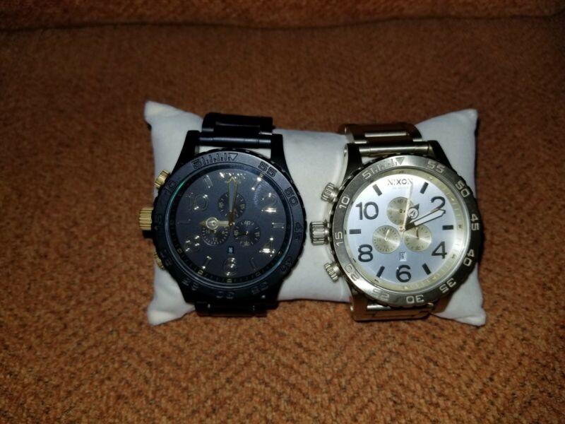 2 nixon 51-30 watch for men