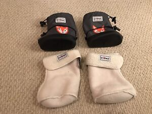 Brand new Stonz toddler winter boots and liners (size large)