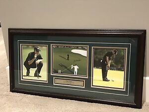 Signed Mike Weir - Masters win