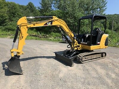 Caterpillar 303.5 Mini Excavator Runs Exc Video Available Cat Diesel