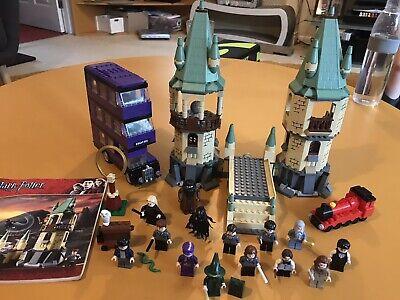 Lego Harry Potter Bundle Hogwarts Knight Bus minifigures