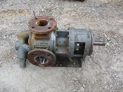 Tuthill Pump No Tag 2 34 X3 Shaft 4 12 X 1 38 251014k Used