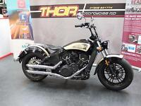 Indian SCOUT 60 CUSTOM BOBBER,BRAND NEW 2018,JUST FINISHED,1 OFF .£12950