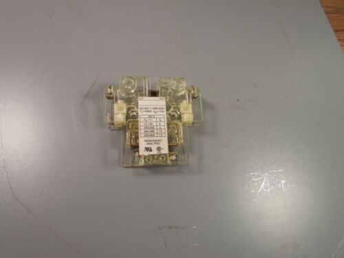 Allen Bradly Auxiliary Contact, IEC337-1   NEW