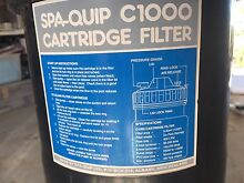 Spa quip c1000 pool cartridge filter Quakers Hill Blacktown Area Preview