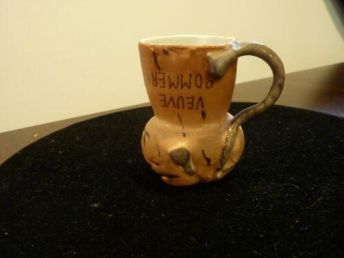 Souvenir VEUVE POMMERY champagne house souvenir face mug cup jigger