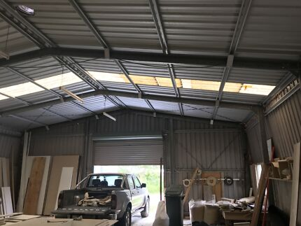 Farm industrial shed for sale removal/dismantled 30m x 10