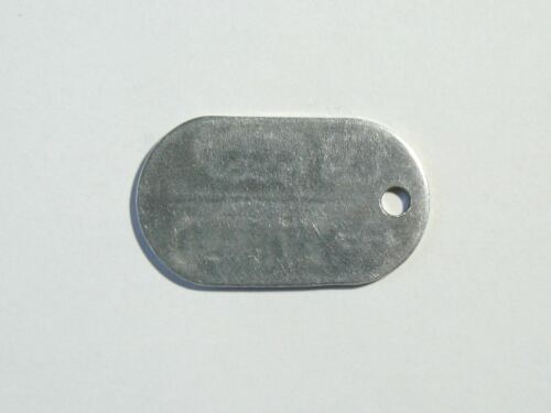 Original Soviet Russian Army Soldier Dog Tag ID Number Token USSR 1