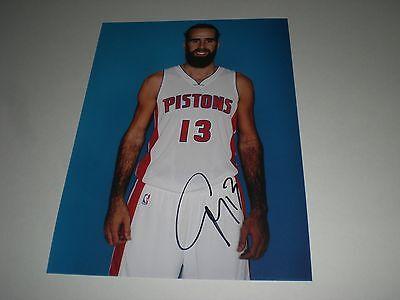 Luigi Datome Basketball NBA signed signiert Autogramm auf 20x28 Foto in person