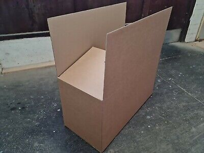 10 XL RemovalStorage Cardboard Boxes Double Wall Overlapped flaps Extra Strong