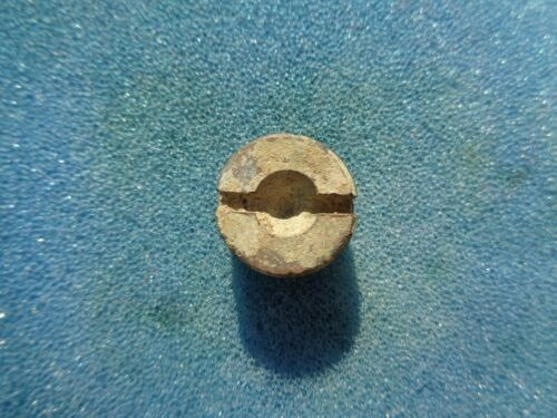 Small Brass Artillery Fuse Plug Recovered in Kennesaw, Georgia