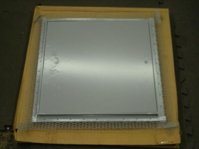"Milcor 18"" x 18"" Metal Standard Flush Access Door for Plaster wall"