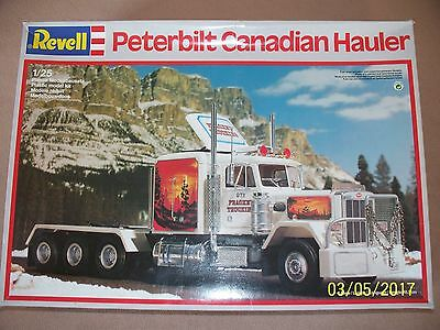 "Revell 1/25 Peterbilt ""Canadian hauler"" kit, factory sealed!!!!!"