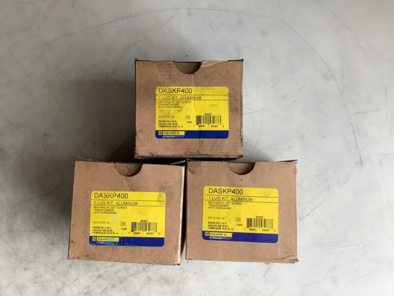 SQUARE D DASKP400 LUG KIT - LOT OF 3