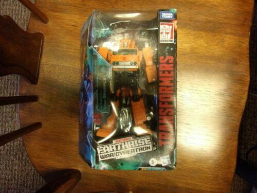 Transformers War For Cybertron Trilogy / Earthrise - Voyager Class GRAPPLE - NEW