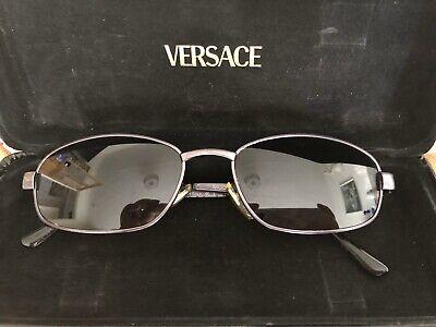 GIANNI VERSACE Mens Womens Vintage Sunglasses Oval MEDUSA MOD S80 COL 58M