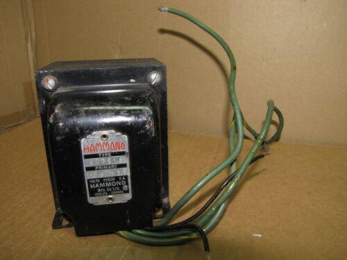 Used Hammond 167S12 Filament Transformer Tube Amp 115V 60Hz 12.6V C.T. 10A Test