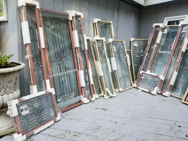 Stained Glass Inserts! Beautiful Entry Doors ODL