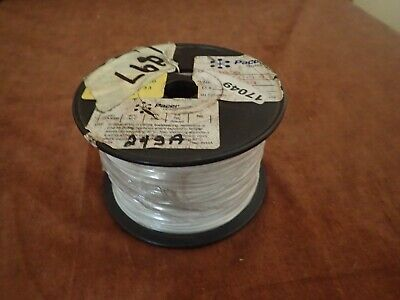 24awg Gauge Tinned Stranded Hook Up Wire White 1000 Ft