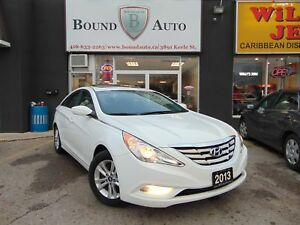 2013 Hyundai Sonata GLS|S-ROOF|H-SEATS|B-TOOTH|PO-GR|ALLOY|NO AC
