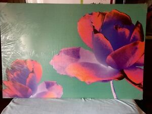 IKEA Pjatteryd Oil Painting Flower Canvas