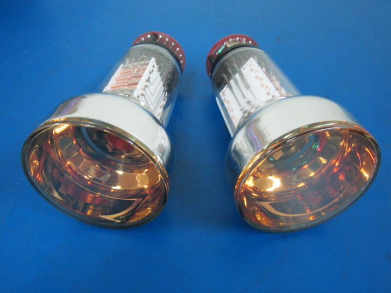Lot of 2 Philips Photomultiplier Tubes Model XP2412/SQ Class A