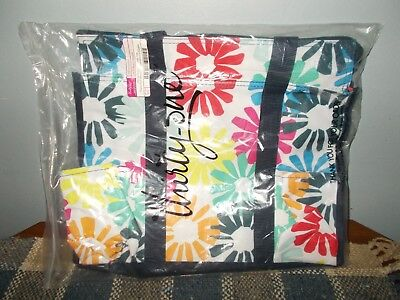 Thirty-One Bloomin Bouquet Zip Top Organizing Utility Tote Diaper Bag (Thirty One Organizing Utility Tote Diaper Bag)