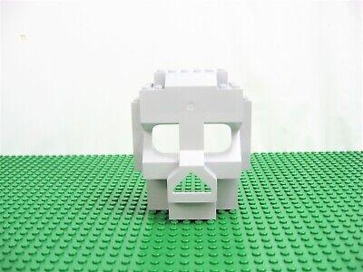 LEGO Light Bluish Gray Rock Skull 4 x 10 x 10 Panel 3827 4074 #47991