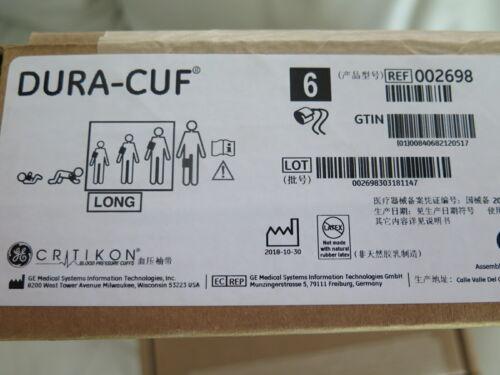 Critikon Adult Pack BP Blood Pressure Dura-Cuf 2698 - BOX of 6