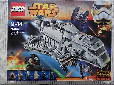 LEGO 75106 STAR WARS IMPERIAL ASSAULT CARRIER NEW FACTORY SEALED