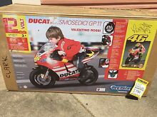 Peg perego electric motorbike Ducati Desmosedici GP11 Rossi BNIB Whitfield Cairns City Preview