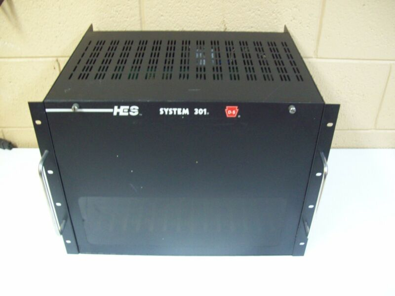 HES SYSTEM 301 CHASSIS - FREE SHIPPING!!!