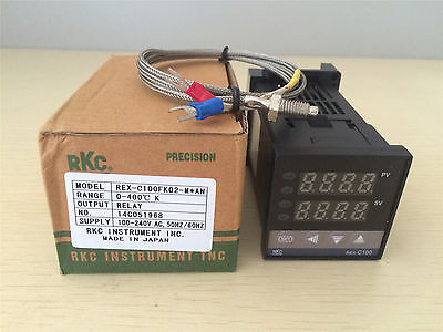 Rex-c100 Pid Temperature Controller Relayssr Output K Type Thermocouple