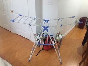 Clothes drying rack, drying horse