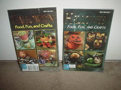 Halloween Treats Ideas Recipes (2 HALLOWEEN FOOD FUN & CRAFTS (CRAFTS, TREATS, & RECIPE IDEAS) PAPERBACK BOOKS)
