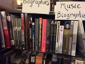 Music Biographies  for sale