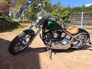 Harley Davidson chopper custom Dural Hornsby Area Preview