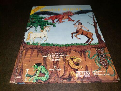 Dungeons & Dragons Monster Manual 1 & 2 II 1979 & 1983
