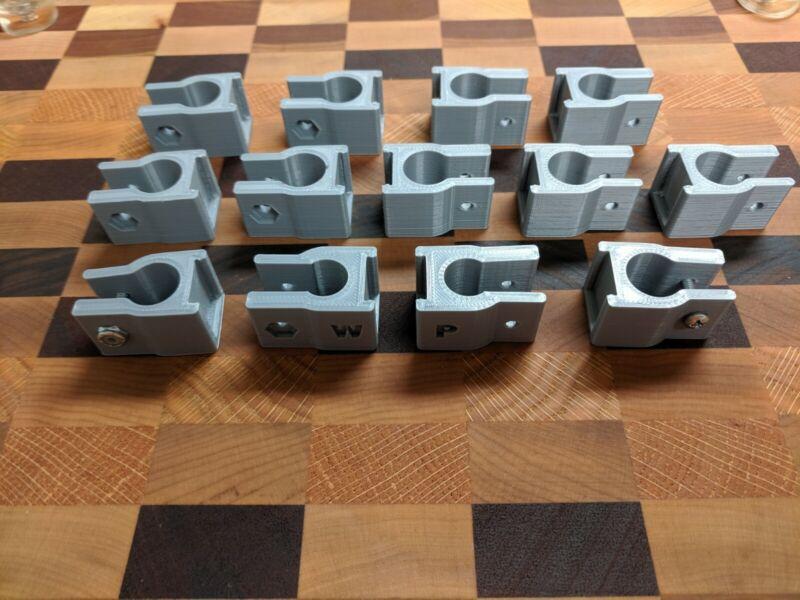 Rapsodo R-Motion 13 Clip Club Attachment Kit, New