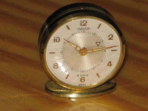 Very Nice Vintage Swiss Jeager Memovox 8 day, 15 jewels Alarm clock