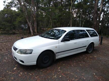2007 Ford Falcon Wagon Melbourne CBD Melbourne City Preview