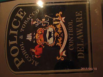 Delaware Alcohol Tobacco Control Police Door Seal (OBSOLETE)