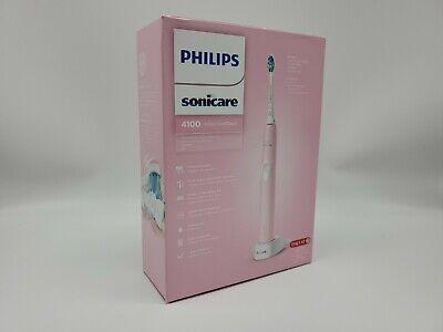 Philips Sonicare 4100 Cepillo de dientes eléctrico recargable, limpio y protector, rosa