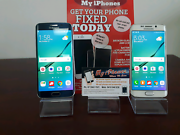 Samsung Galaxy S6 edge 32 & 64 gb blue & white 3 Month warranty  Parkwood Gold Coast City Preview