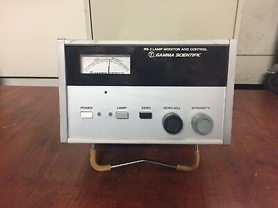 Egg Gamma Scientific Rs-3 Lamp Monitor And Control Fscm 23673 Rs3